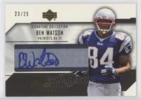 Ben Watson /25