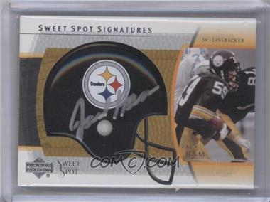 2004 Upper Deck Sweet Spot - Signatures #SS-JA - James Harrison