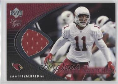 2004 Upper Deck Sweet Spot - Sweet Swatches #SW-LF - Larry Fitzgerald