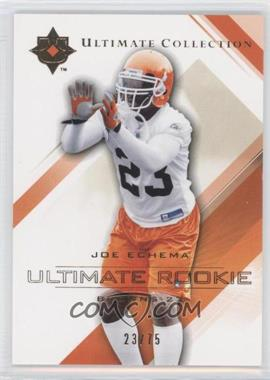 2004 Upper Deck Ultimate Collection - [Base] - Gold #69 - Joe Echema /75