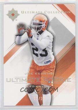 2004 Upper Deck Ultimate Collection - [Base] - Platinum #69 - Joe Echema /10