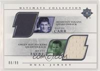 Brett Favre, David Carr #/99