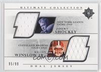 Jeremy Shockey, Kellen Winslow Jr. /99