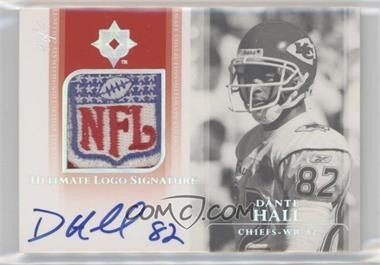 2004 Upper Deck Ultimate Collection - Ultimate Logo Signatures #ULS-DH - Dante Hall /1