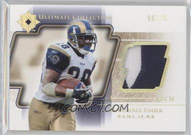 2004 Upper Deck Ultimate Collection - Ultimate Patch - Gold #UP-MF - Marshall Faulk /25