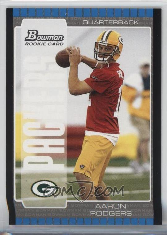 2005 Bowman Base 112 Aaron Rodgers