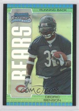 2005 Bowman Chrome - [Base] - Green Refractor #125 - Cedric Benson /399