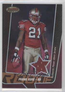 2005 Bowman's Best - [Base] - Bronze #FRGO - Frank Gore /99