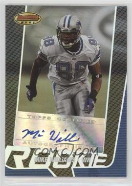 2005 Bowman's Best - [Base] #131 - Mike Williams /199