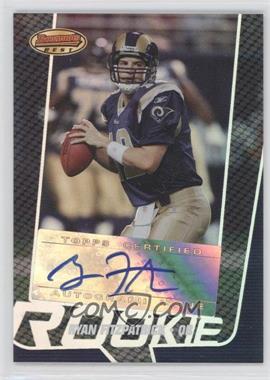 2005 Bowman's Best - [Base] #153 - Ryan Fitzpatrick /999