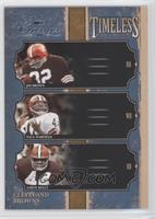 Leroy Kelly, Jim Brown, Paul Warfield /500