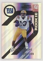 Corey Webster [Noted] #/499