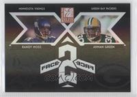 Ahman Green, Randy Moss #/500