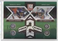 Daunte Culpepper, Joey Harrington #/125