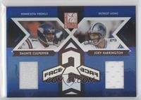 Daunte Culpepper, Joey Harrington #/250