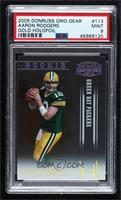 Aaron Rodgers [PSA 9 MINT] #/100