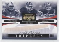 Eric Moulds, Josh Reed, Lee Evans #/100