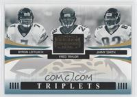 Byron Leftwich, Fred Taylor, Jimmy Smith #/1,000