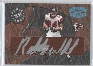 2005 Donruss Throwback Threads - Rookie Hoggs - Autographs [Autographed] #RH-17 - Roddy White /150