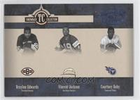 Braylon Edwards, Vincent Jackson, Courtney Roby /100