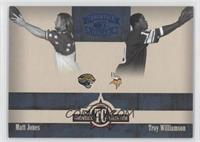 Matt Jones, Troy Williamson /100