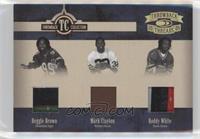 Reggie Brown, Mark Clayton, Roddy White /25