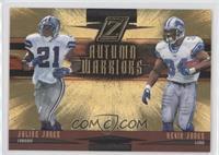 Julius Jones, Kevin Jones /100