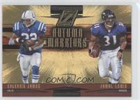 Jamal Lewis, Edgerrin James /100