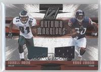 Terrell Owens, Andre Johnson /250