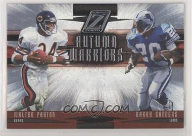 2005 Donruss Zenith - Autumn Warriors #AW-2 - Barry Sanders, Walter Payton