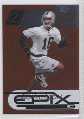 2005 Donruss Zenith - Epix - 1st Down Orange #E-21 - Randy Moss /1000