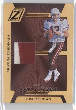 2005 Donruss Zenith - Z-Jerseys - Prime #Z-3 - Josh McCown /100