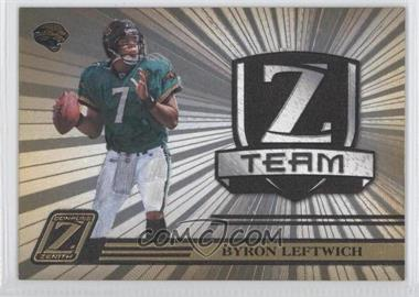 2005 Donruss Zenith - Z Team - Gold #ZT-13 - Byron Leftwich /100