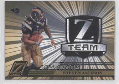 2005 Donruss Zenith - Z Team - Gold #ZT-25 - Steven Jackson /100