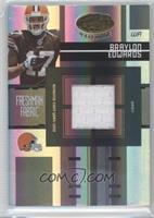 Freshman Fabric - Braylon Edwards /499