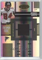 Freshman Fabric - Roddy White #/749