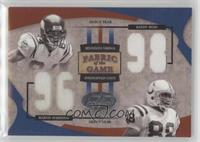 Marvin Harrison, Randy Moss #/98