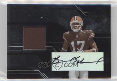 2005 Leaf Limited - [Base] #205 - Braylon Edwards /100