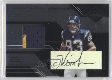2005 Leaf Limited - [Base] #229 - Vincent Jackson /100