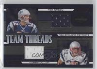 Tom Brady, Corey Dillon /75