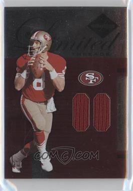 2005 Leaf Limited - Threads - At The Half #LT-83 - Steve Young /50