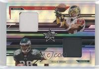 Roddy White, Reggie Brown #/10