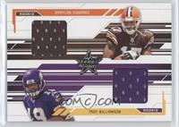 Braylon Edwards, Troy Williamson /500
