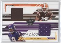 Braylon Edwards, Troy Williamson #/500