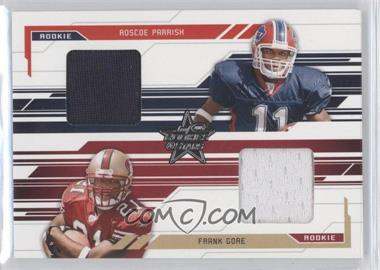 2005 Leaf Rookies & Stars - [Base] #284 - Roscoe Parrish, Frank Gore /500