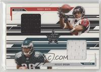 Reggie Brown, Roddy White #/500