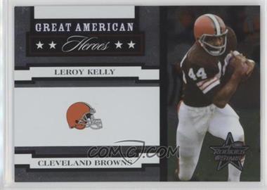 2005 Leaf Rookies & Stars - Great American Heroes - White #GAH-18 - Leroy Kelly /750