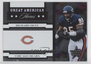 2005 Leaf Rookies & Stars - Great American Heroes - White #GAH-21 - Richard Dent /750