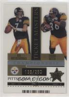 Ben Roethlisberger, Jerome Bettis /250