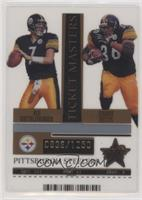Ben Roethlisberger, Jerome Bettis /1250 [EX to NM]